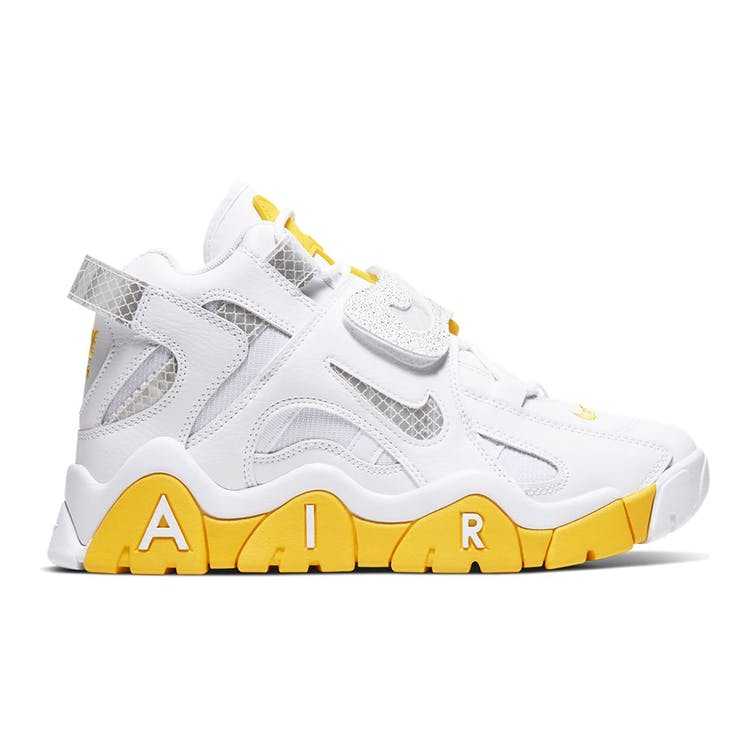 Image of Air Barrage Mid White Chrome Yellow (W)