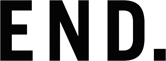 END. Clothing Logo